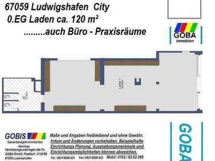 Lu TOP LAGE - Laden / Büro ca. 120 m² - nahe Rathaus Center -