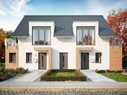 2 Doppelhaushälften: EIN Zuhause für ZWEI Familien in Langenselbold!