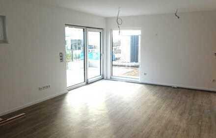 Neubau Hagenbüchach: Smart-Home fähige DHH ca.125 m² Wfl., EBK, Fußbodenheizung, Terrasse, Garten