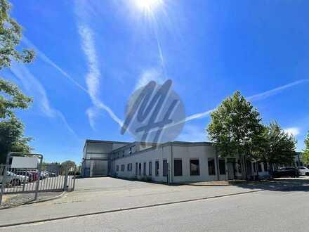KEINE PROVISION ✓ Lager-/Produktion (4.400 m²), Büro (250 m²) & Ausstellung (550 m²) zu vermieten