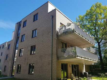 Wohnen im Edur-Park, 3-Zimmer-Wohnung mit Terrasse und Garten