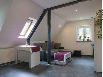 Ruhig gelegene 2-Zimmer-Maisonettewohnung mit Gartenanteil
