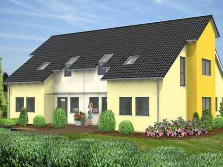 Neubauvorhaben eines Doppelhauses in Geismar.