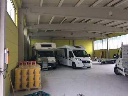 Wohnmobilstellplatz - trocken und sicher