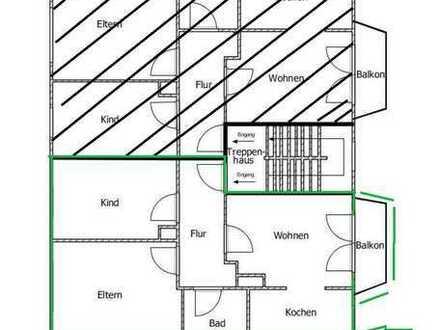 Gepflegte 3,5-Zimmer-Wohnung mit Balkon in Castrop-Rauxel