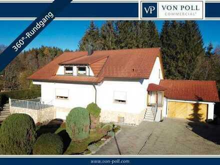 Geräumiges Einfamilienhaus in Ortsrandlage direkt am Waldrand