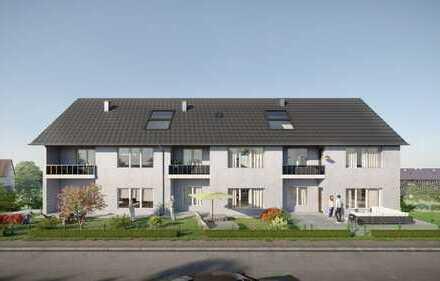 Schöne, moderne 3-ZKB West-Gartenwohnung zum Erstbezug und Prov.-frei!