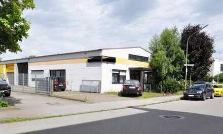 Werkhalle mit Büro in verkehrsgünstiger Lage in Haunstetten!