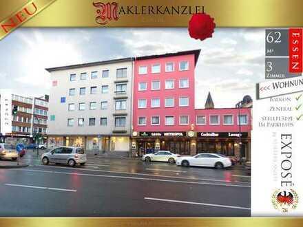 +++ NEU +++ Tolle Chance in zentralster Lage der Stadt Essen; Immobilienvermögen statt Miete. Hier!