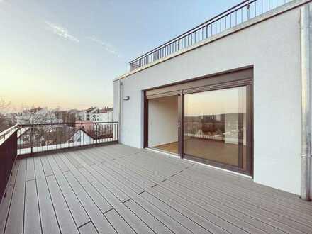 Sonnige traumhafte Wohnung ** Neubau & Erstbezug an der Weißen Elster * Terrasse * EBK * Gäste-B
