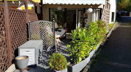Schöne 2-Zimmer-Erdgeschosswohnung mit Terrasse und Einbauküche in Burscheid