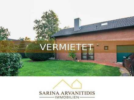 VERMIETET! Worpswede - Gemütliche Doppelhaushälfte mit großem Garten