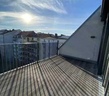 Penthouse-Wohnung - Mitten in München mit Blick in die Berge