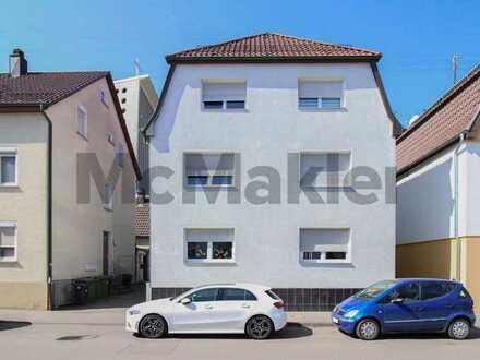 Nutzungsvielfalt in Toplage im Stuttgarter Norden: MFH mit 3 gepflegten Wohnungen, Garten u. Garage