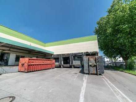 8.610 m² Lagerflächen mit Rampe in zentraler Lage, direkt an A40!
