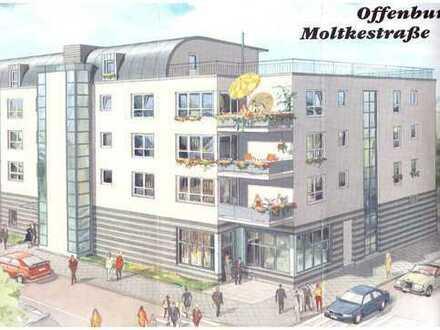 Schöne zwei Zimmer Wohnung zentral in Offenburg mit TG-Stellplatz/Aufzug