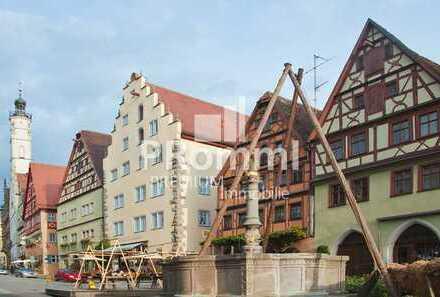 247 m² Ladengeschäft in der Innenstadt von Rothenburg ob der Tauber - Mit Mietpreisgarantie!