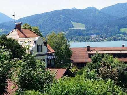 Tegernseer Maisonettewohnung in Toplage mit Seeblick