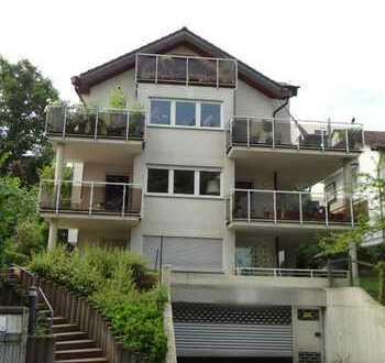 Zwischen Wielandshöhe & Weinsteige: 4-Zi.-Wohnung für Familie mit Kind, 2 Balkone, Sackgasse