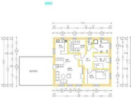"""2 moderne """"Land""""-Wohnungen (EG/OG) im Erstbezug mit äußerst geringen Nebenkosten"""