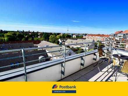 EXKLUSIV am BÜRGERARK! Maisonette-Wohnung mit Fahrstuhl über den Dächern von Findorff
