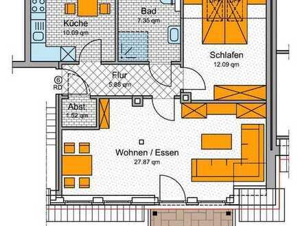 2- Zimmer mit WBS!