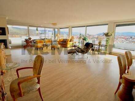 Über den Dächern von Weinstadt +++ Exklusives 3,5-Zi.-Penthouse mit 120 m² großer Dachterrasse
