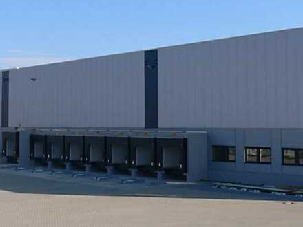 """BAUMÜLLER & CO."" - ca. 10.000 m² neuwertige Logistikhalle - Nahe BAB"