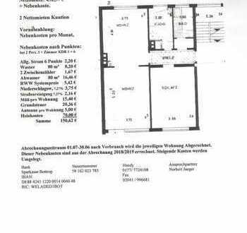 Schöne, vollständig renovierte 3-Zimmer-Wohnung in Bottrop