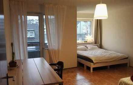 Stilvolle 1-Zimmer-Wohnung mit Balkon in Düsseldorf