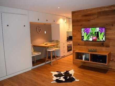 Exklusive 1-Zimmer-Wohnung mit großzügigem Balkon im Herzen von Oberstaufen