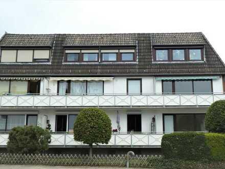 Sonnige, top renovierte 3-Zimmer-Wohnung im Dachgeschoss in Hemelingen