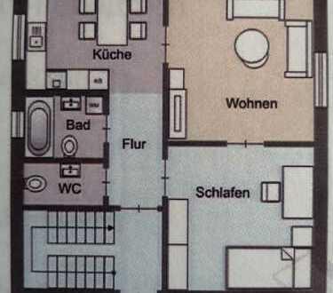 ruhige Lage im Zentrum von Feuerbach