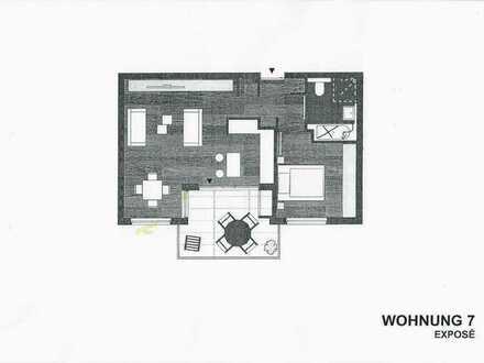 Elegante 2-Zimmer-Wohnung, tolle Südhanglage im Rodgebiet