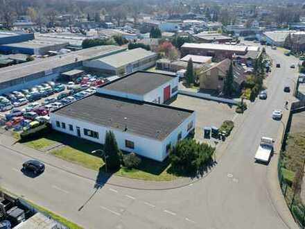 Hochwertige Büroräume + Lagerhallen ca. 396 qm mit eigenen Stellplätzen
