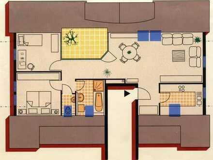 Sehr schöne helle drei Zimmer Dachgeschoßwohnung in Holzgerlingen