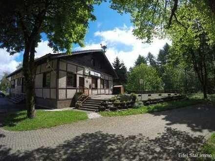 Gastronomie und Wohnen in Alleinlage in der Nord-Eifel