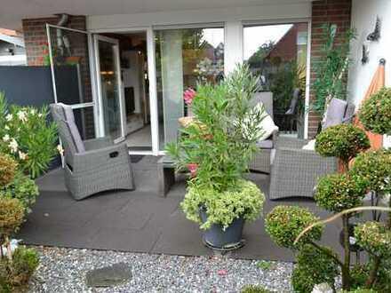 3 Zimmerwohnung im Erdgeschoss mit Terrasse in Rheine Mesum