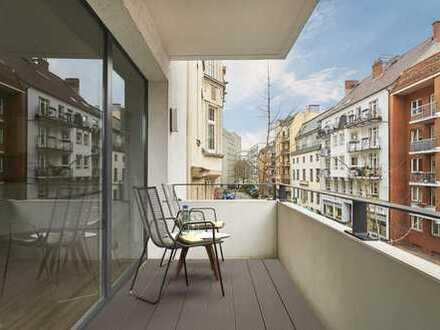 Wohnen in den Wallhöfen: Moderne 3-Zimmer Wohnung mit Terrasse