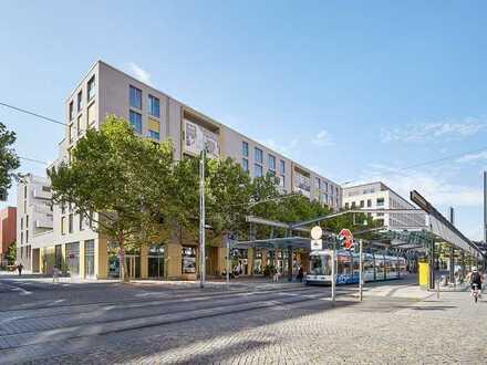 In 5 Minuten an den Elbwiesen...-Schicke 1 Zimmer-Wohnung mit Balkon und Einbauküche