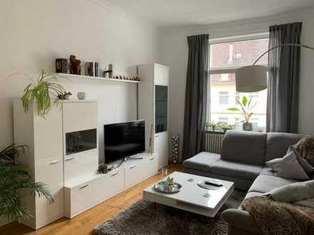 Freundliche 2-Zimmer-Wohnung mit Balkon und EBK in Hannover zur Zwischenmiete