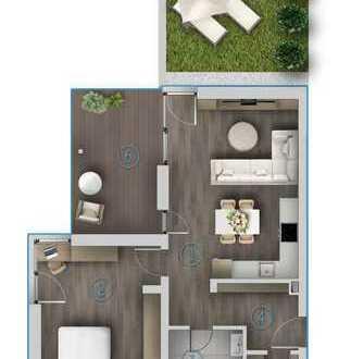 Exklusive 2-Zimmerwohnung