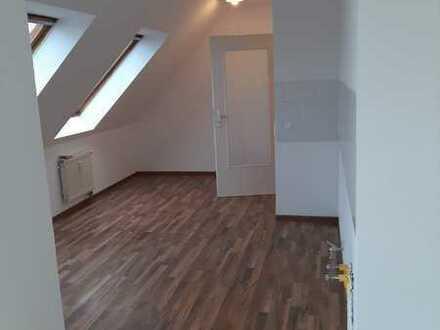 Frisch renoviertes 1-Zimmer Apartment im Dachgeschoss mit Dachterrasse
