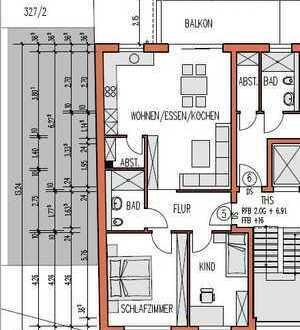 neuwertige 3-Zimmer-Wohnung mit Balkon und Garage in Dettingen