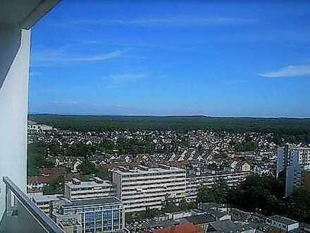 TOP | sonniges Studio | gr. Süd-Balkon mit Fernblick | Ankleide | EBK | Aufzug | TG-Stellplatz