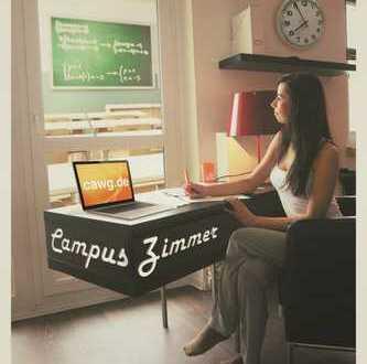 Campuszimmer, das all inclusive Zimmerangebot direkt am Campus der TU Chemnitz (Das Doppelte)