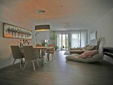 Attraktive Neubau-Wohnung am Fuße des Burgbergs: 3-Zimmer, EG, Tiefgarage, Einbauküche