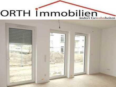 Barrierefreie 2 Zimmer Wohnung mit Gartenterrasse, EBK, Fußbodenhzg. und großem Duschbad