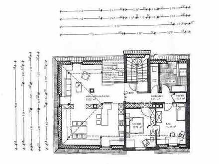 Herrliche, 3-Zimmer-DG-Altbauwohnung mit gehobener Innenausstattung zur Miete in Landshut