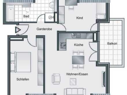 3,5-Zimmer-Wohnung DG